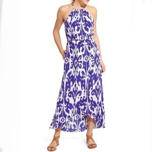 Women's Athleta ikat bloom maxi dress size XXS